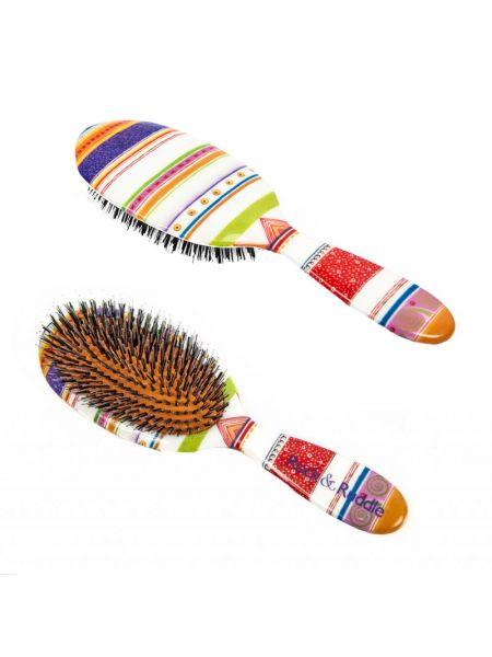 Rock & Ruddle Haarborstel Gekleurde Strepen