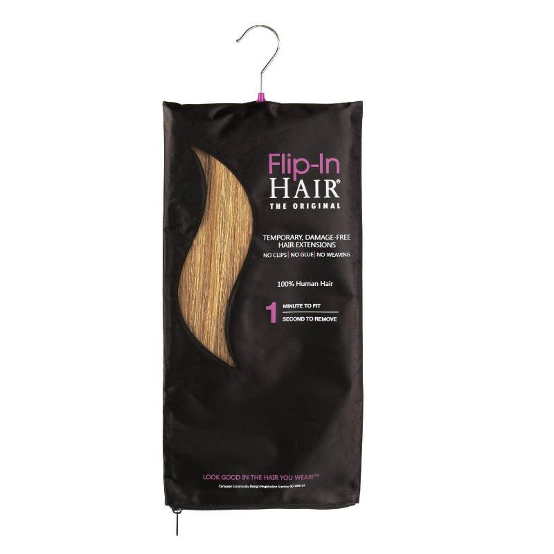 Flip-in Hair The Original Cinnamon/Sun Blonde-40 cm / 16 inch