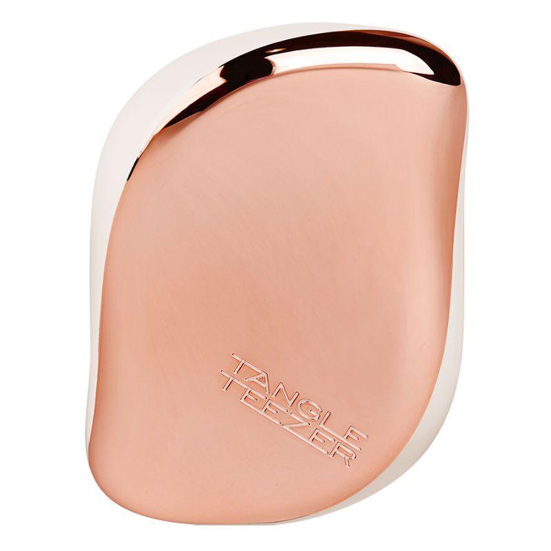Tangle Teezer Compact Styler Rose Gold Cream Haarborstel