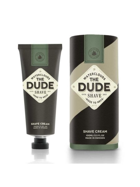 Waterclouds The Dude Shave Shave Cream