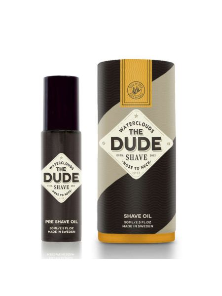 Waterclouds The Dude Shave Shave Oil