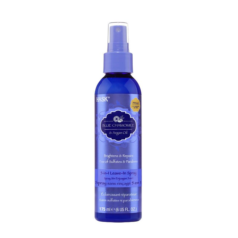 Hask Blue Chamomile with Argan Blonde 5 in 1 Leave-In Conditioner