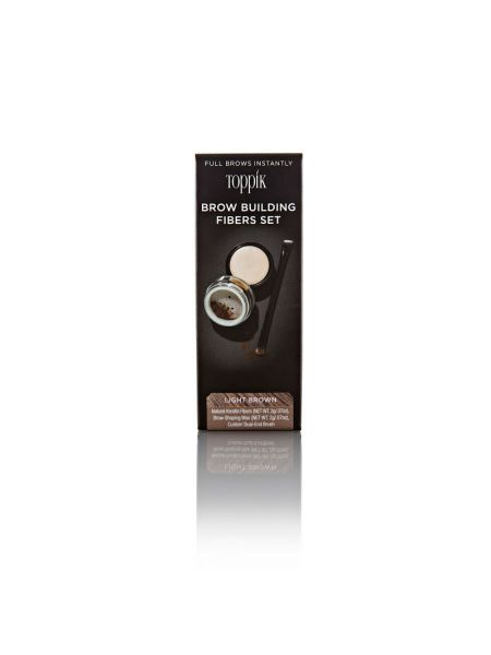 Toppik Brow Building Fibers Light Brown