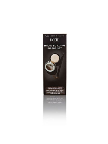 Toppik Brow Building Fibers Medium Brown
