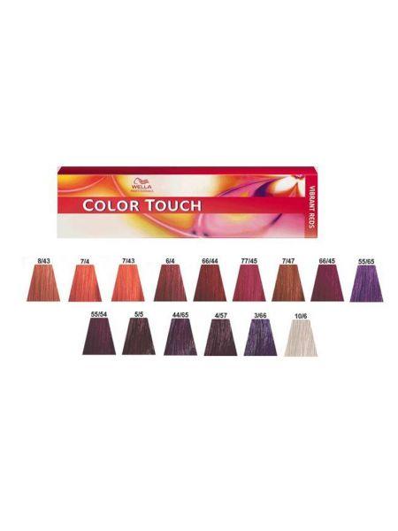 Wella Color Touch Vibrant Reds Met Kleurkaart
