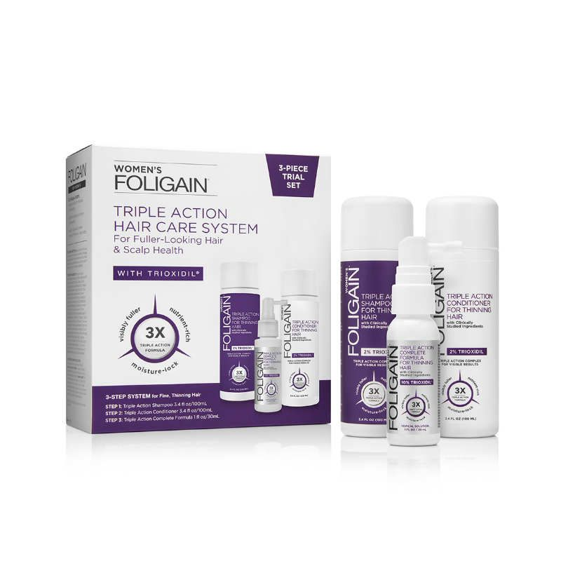 Foligain Complete System Women (Trial Set)