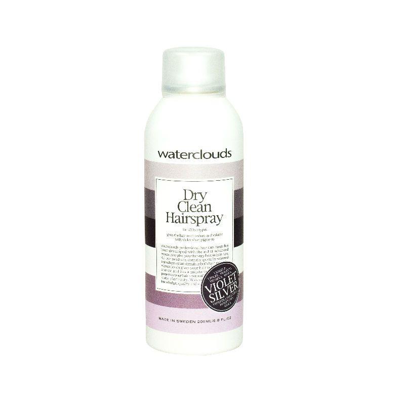 Waterclouds Dry Clean Hairspray Violet Silver