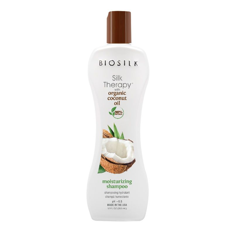 BioSilk Silk Therapy Coconut Oil Moisturizing Shampoo