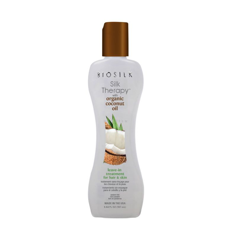 BioSilk Silk Therapy with Coconut Oil Leave in Treatment