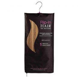 Flip-In Hair Extensions The Original Golden Brown/Butterscotch 6/27
