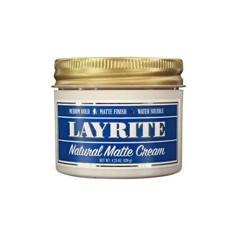 Layrite Natural Matte Cream Pomade