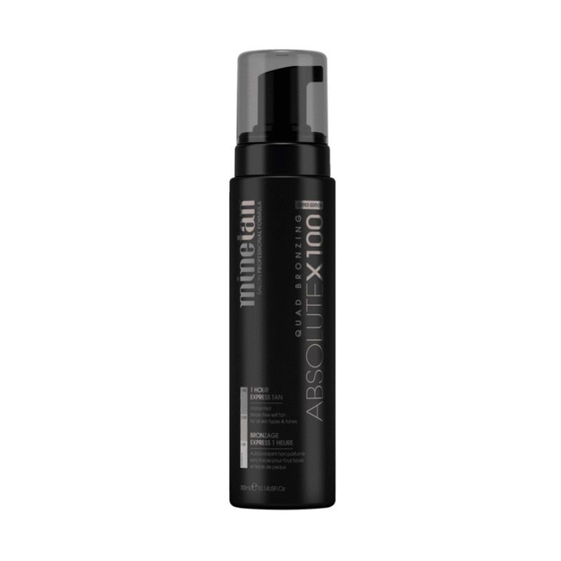 MineTan Absolute X100 Self Tan Foam (Limited Edition)