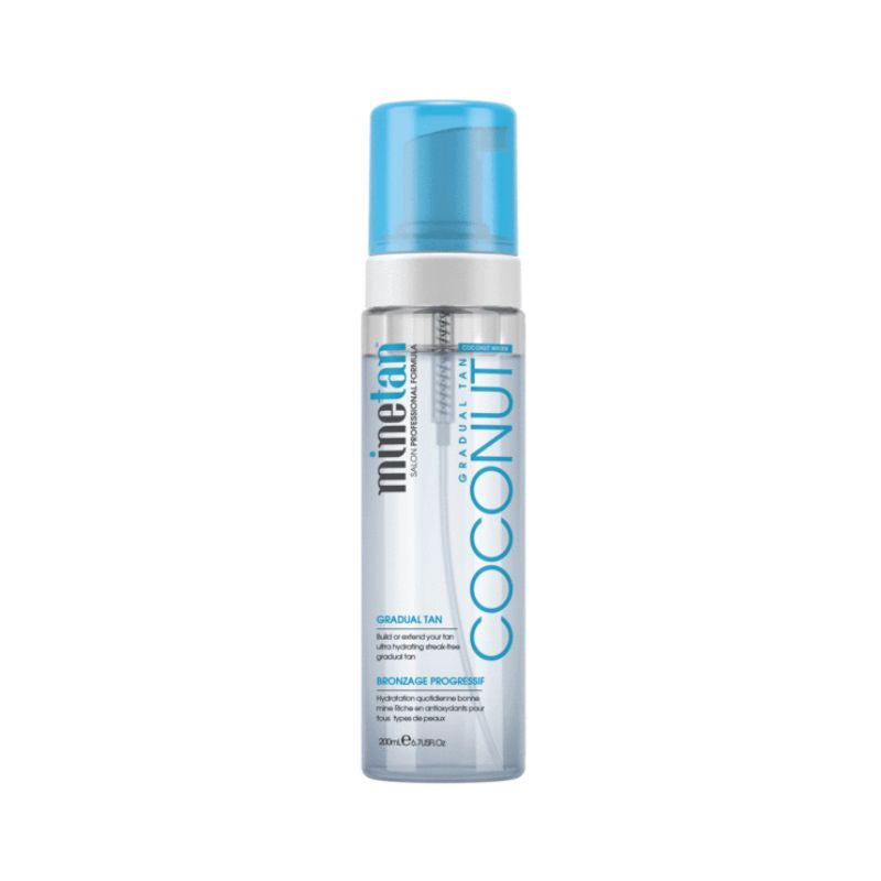 MineTan Coconut Water Gradual Tan Foam