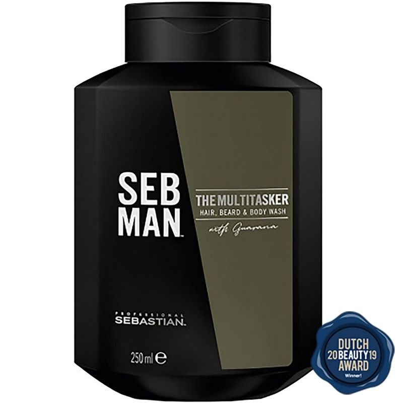 Sebastian Man The Multitasker 3-in-1 Shampoo