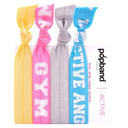 Popband London Active Hairties Active Angel, Gym Junkie