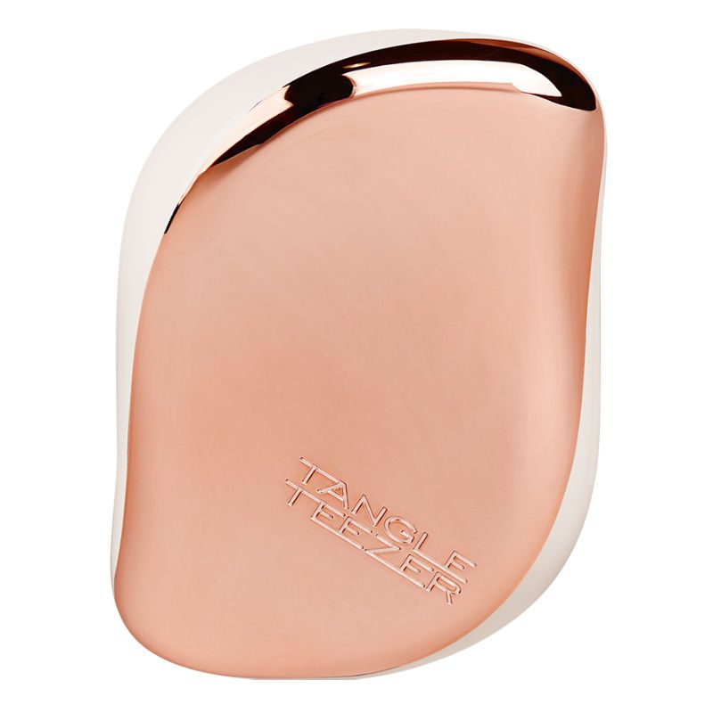 Tangle Teezer Compact Styler Rose Gold Cream Haarborstel