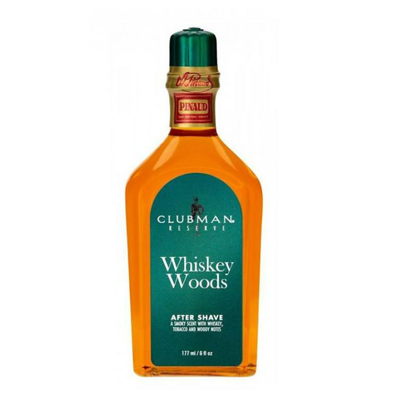 Clubman Pinaud Whiskey Woods After Shave Lotion