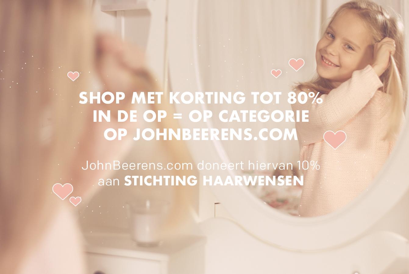 John Beerens steunt stichting Haarwensen! Doe jij ook mee?