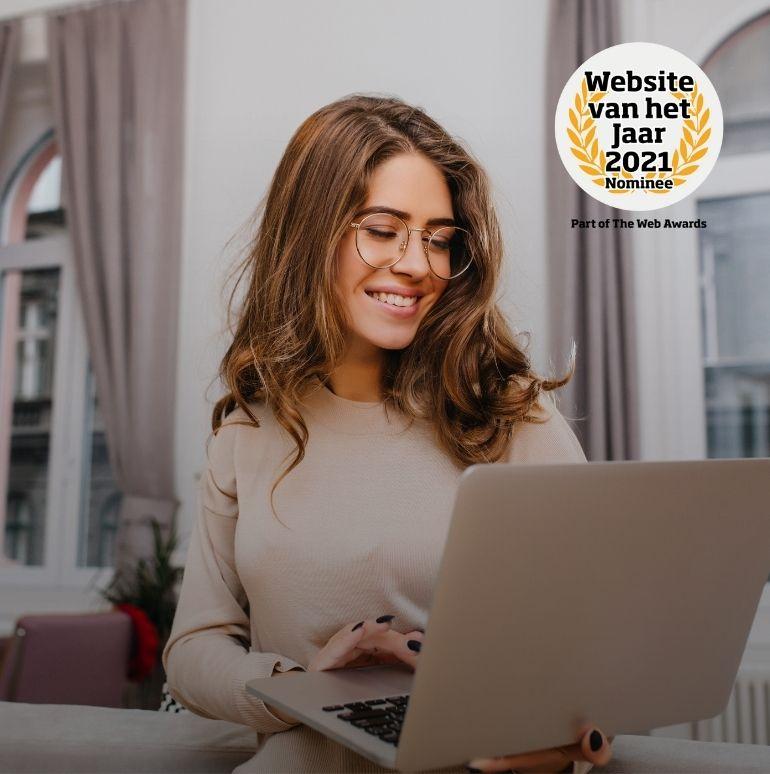 Wij zijn genomineerd voor de Website van het Jaar verkiezing!